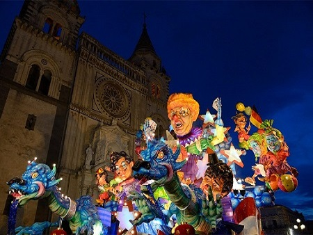 Mini Tour Carnevale Acireale