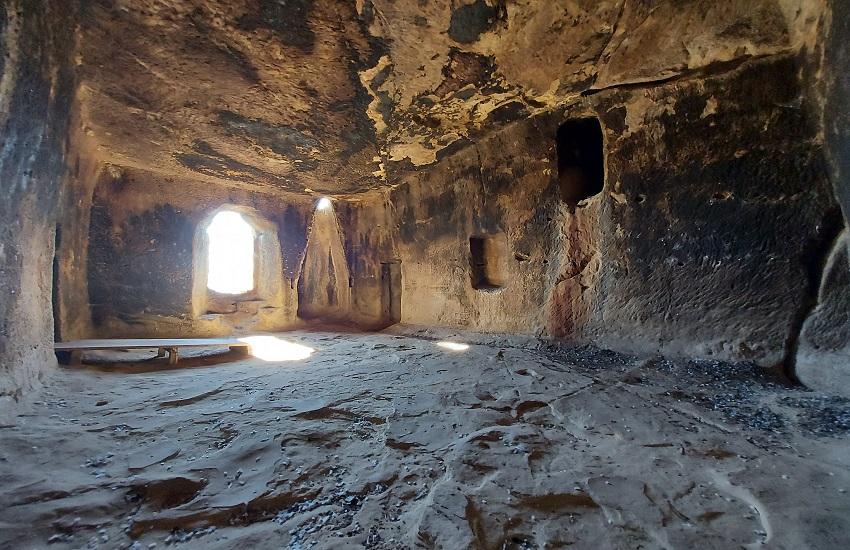 Alia le grotte della Gurfa