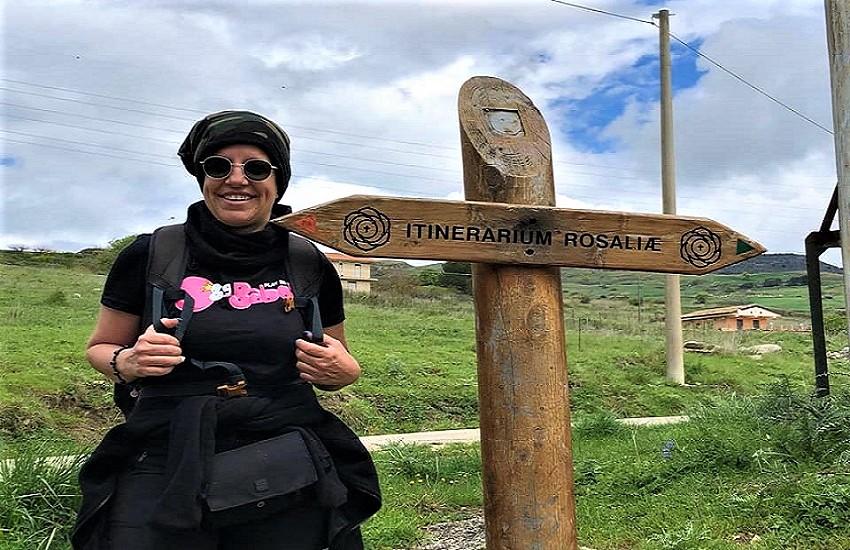 Trekking cammino di Santa Rosalia