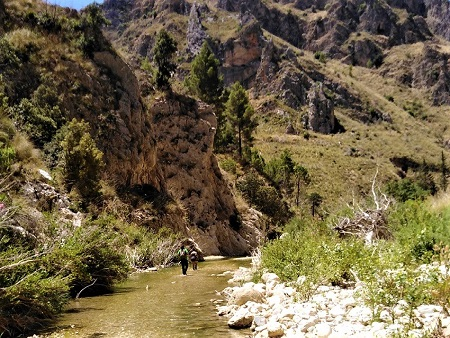 Burgio fiume Sosio